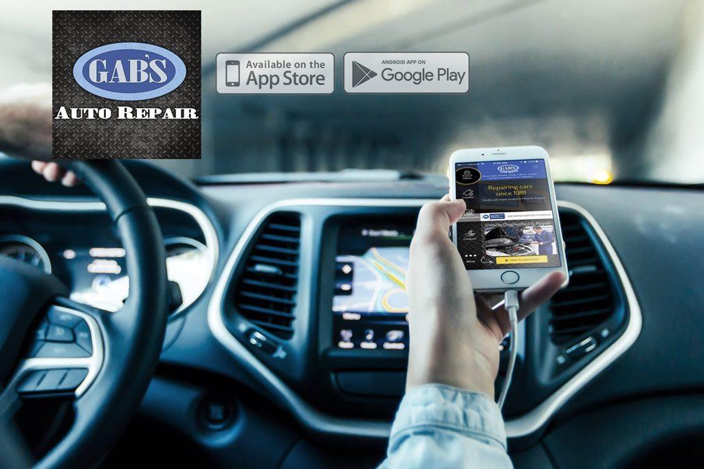 Gabs Auto Repair App Fox Designs Studio
